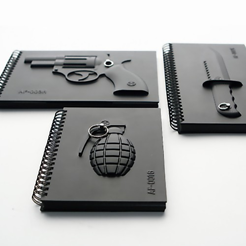 Creative Design To Cover Notebook : Creative notebooks and unusual notebook designs
