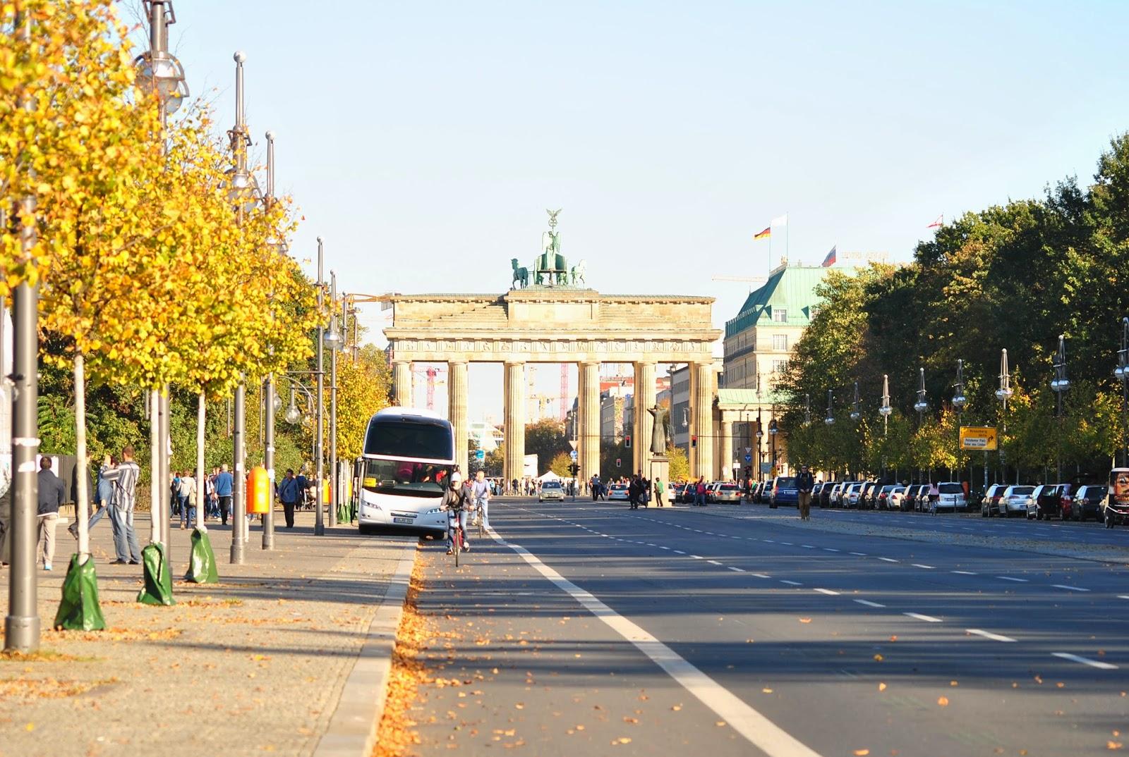 Brama Brandenburska zjednoczenie Niemiec
