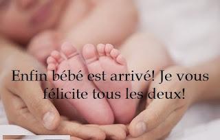 message pour bébé