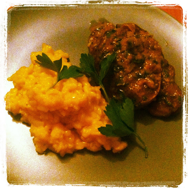 The nomadic feast kitchen osso bucco risotto alla for Best risotto in milan