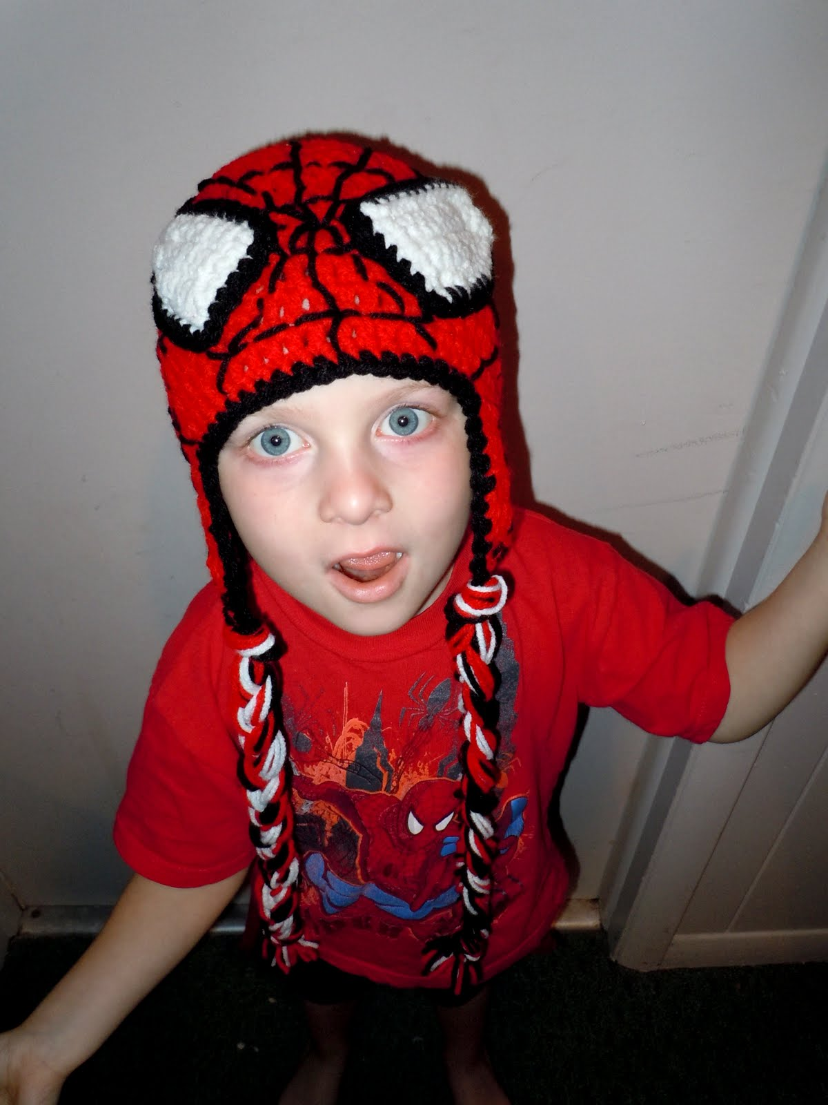 Luv Boopa: Spiderman Crochet Hat PATTERN