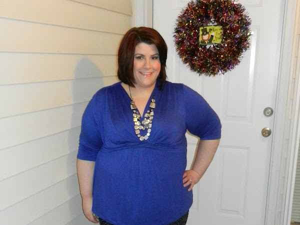 What I Wore:  Birthday Blue