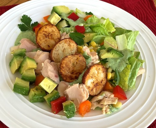 Roasted-Potato Salad with Buttermilk Dressing