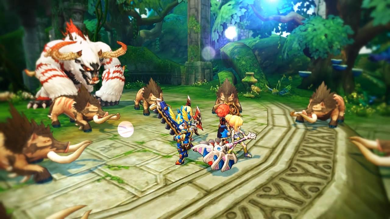 Dragomon Hunter gameplay
