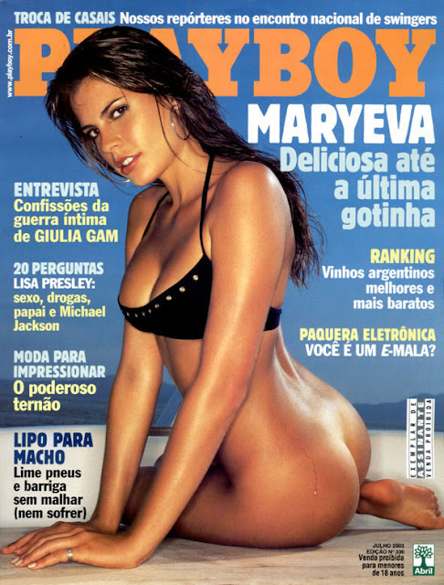 Maryeva Oliveira nua