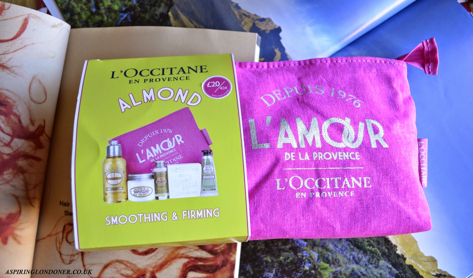 L'Occitane Almond Discovery Collection - Aspiring Londoner