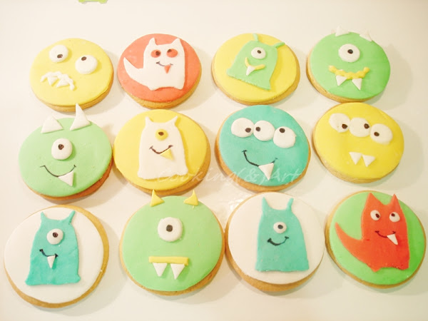 Μπισκότα με ζαχαρόπαστα !