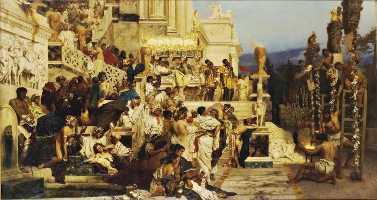 Henryk Siemiradzki - Pochodnie Nerona