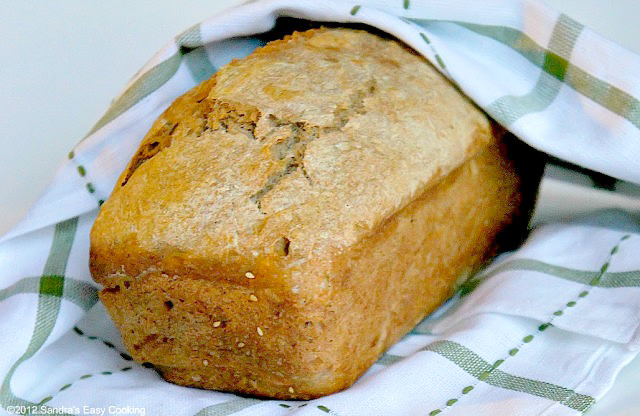 Homemade Bread (half wheat)