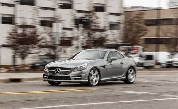 2015 Mercedes Benz SLK 250 Manual Transmission