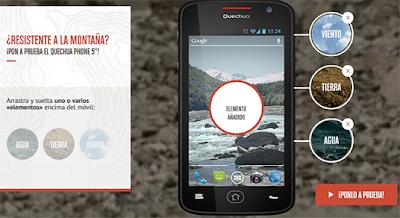 nuevo smartphone Quechua Phone 5