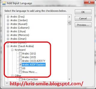 Menulis arab di word2