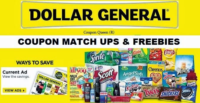 Dollar store coupon matchups