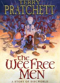 "Cover of ""The Wee Free Men"", a novel by Terry Pratchett"