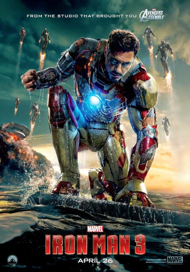 La película Iron Man Three ( Iron Man 3 )