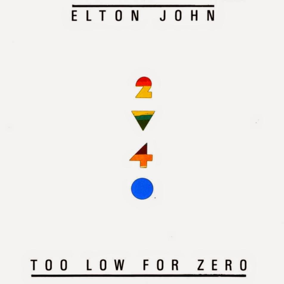 Elton John Too Low For Zero 1983