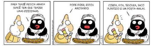 Tirinhas da Luna #46: 'Oxalá' | Ordem da Fênix Brasileira