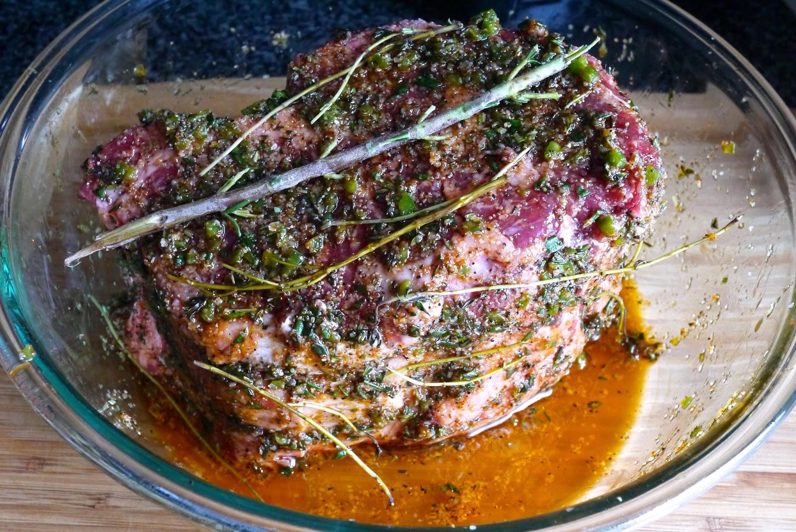 Herb Crusted Ribeye Roast Recipe