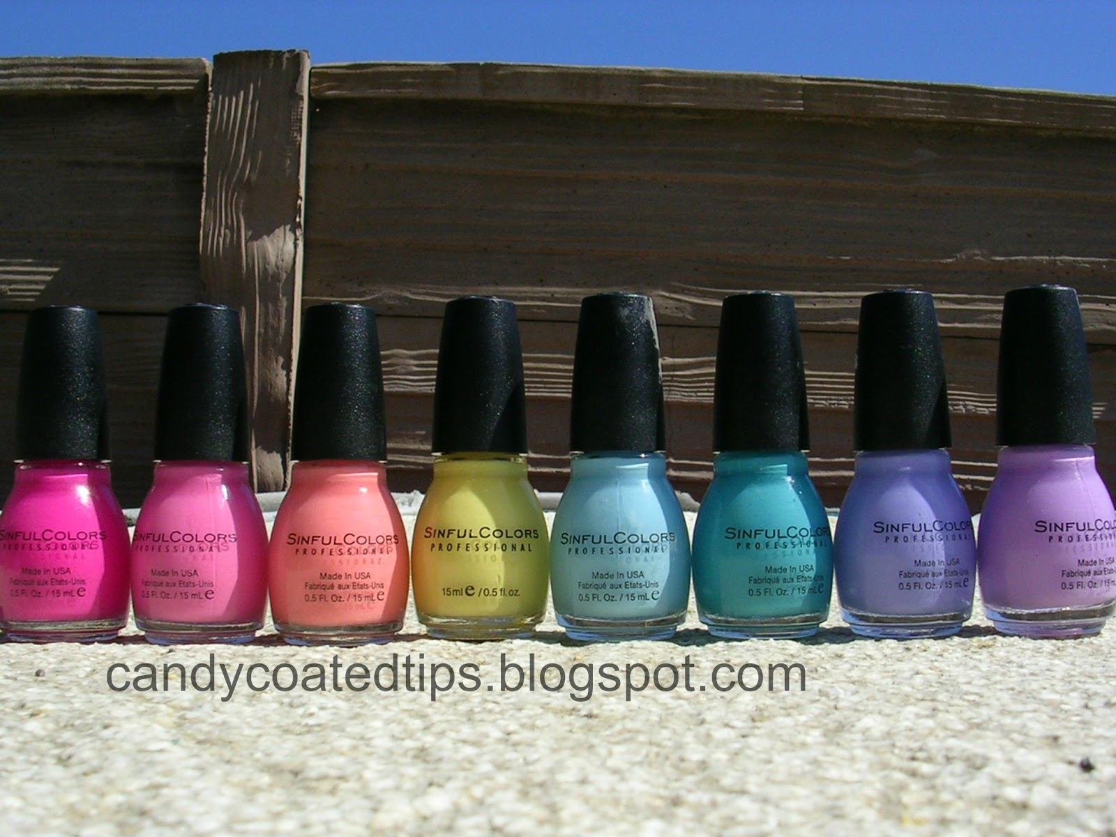 CANDY COATED TIPS: Sinful Colors: Sugar Rush Spring 2013