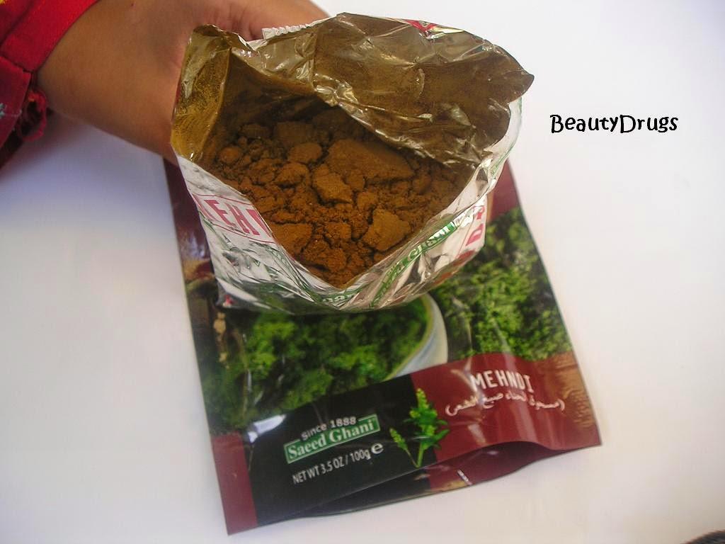 Beauty Drugs Saeed Ghani Heena Powder Hair Dye