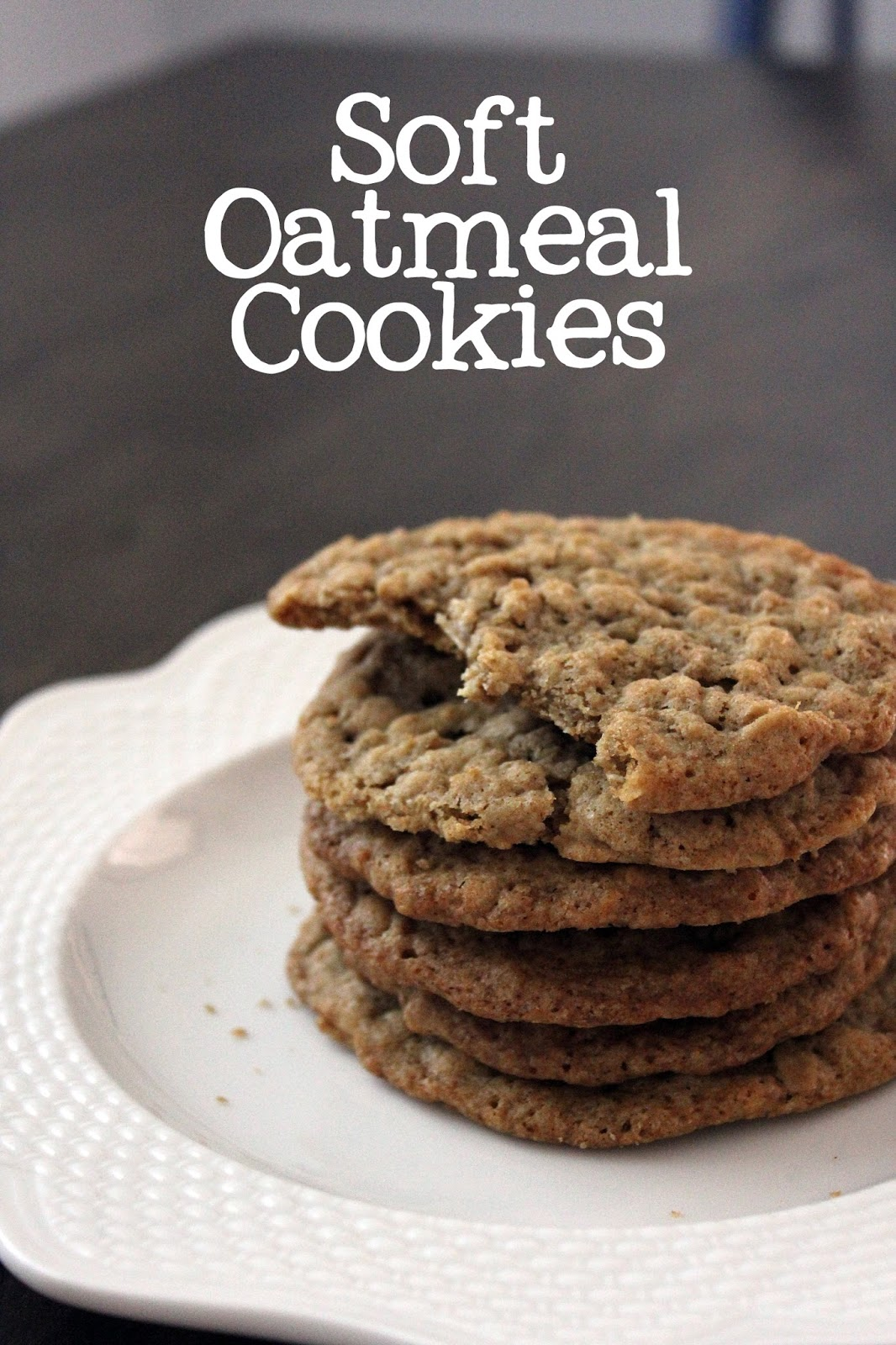 Recipe for Soft Oatmeal Cookies by freshfromthe.com