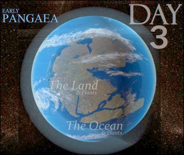 God's Creation Day 3 http://vippasstothespiritworld.blogspot.com/2011/12/creation-day-3-land-and-sea-of-pangaea.html