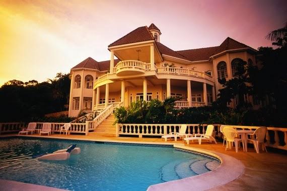 rumah mewah masa kini