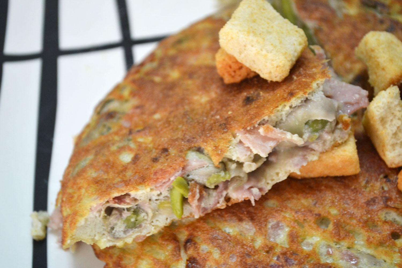 Mi recetario por elena pilar tortilla de habas frescas - Habas frescas con jamon ...