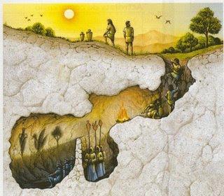 Mito della Caverna di Platone, immagine