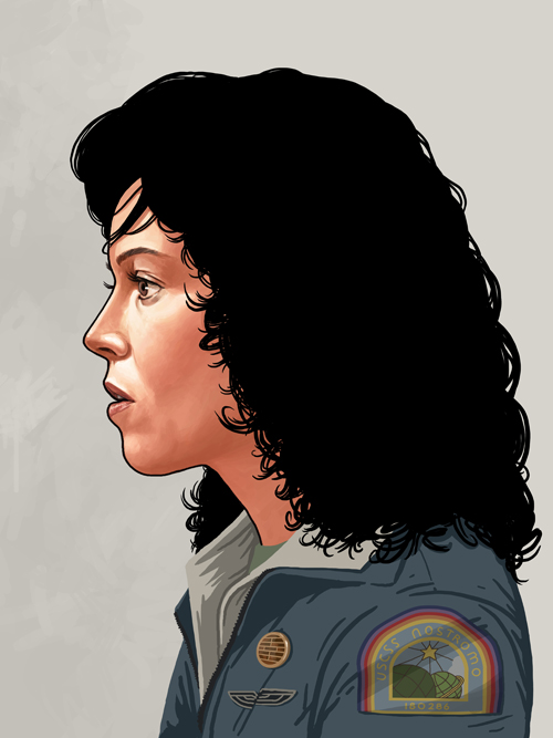 Ellen Ripley by Mike Mitchell