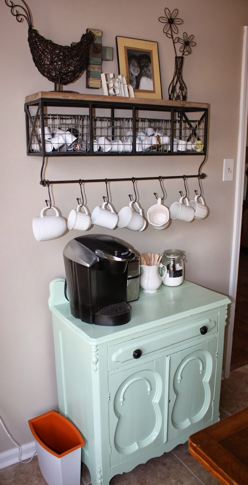 the potter his clay chandelier update kitchen chairs coffee station. Black Bedroom Furniture Sets. Home Design Ideas