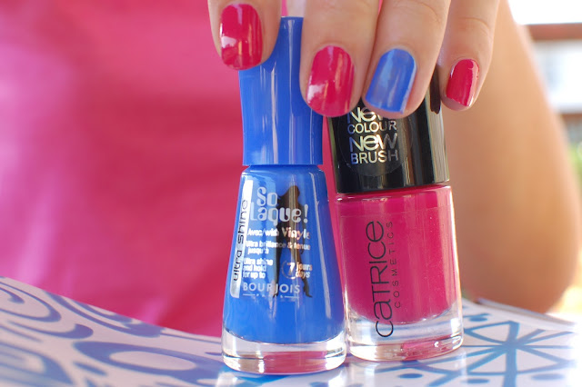 bourjois-catrice-vernis-so laque-bleu fabuleux-rose-bleu-fuschia
