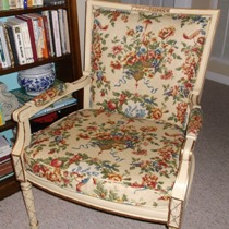 Louie XVI Chair Makeover