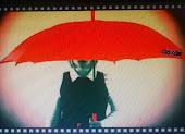 Paraguas Rojo Custom