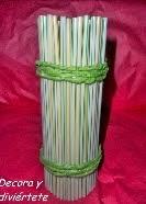 http://www.decoraydiviertete.net/2014/03/transforma-un-vaso-de-tubo-en-un-jarron.html
