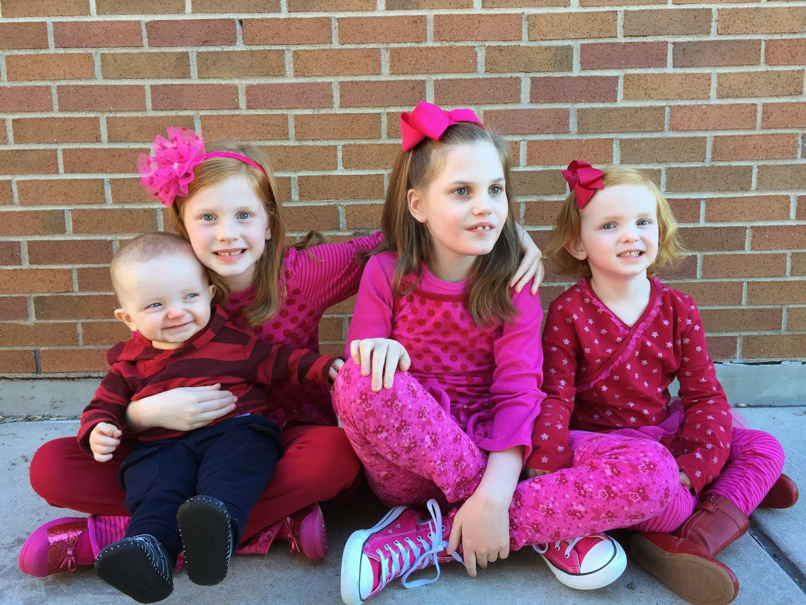 Avery Grace, Kaylin Joy, Presley Hope and Paxton