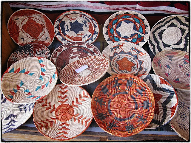 Indian basketware, Santa Fe,