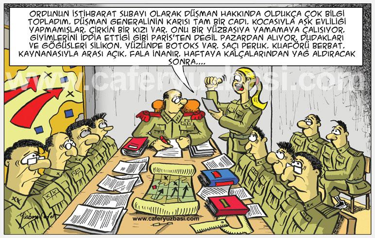 istihbarat-Kadinlar Asker Olursa?