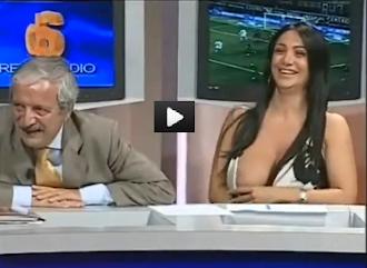 Marika Fruscio e il suo fuori di seno: In rete ha avuto milioni di click. (VIDEO REMIX)