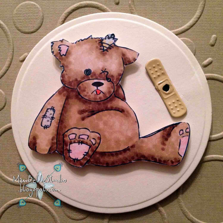 Squigglefly Broken Teddy