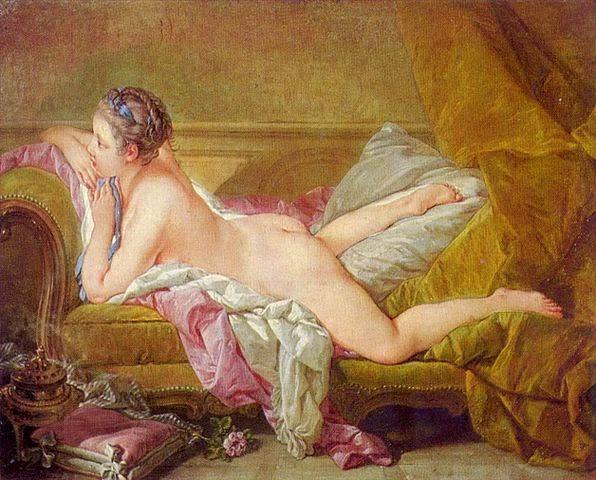 Jeune fille au repos - François Boucher