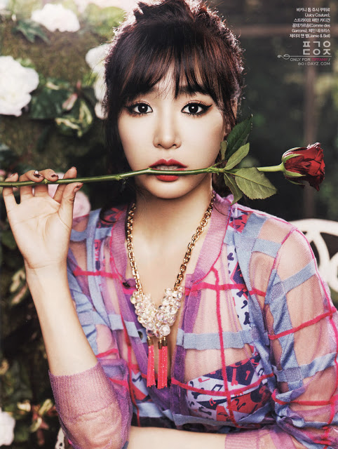 BTS clips of Tiffany's 'CeCi' pictorial revealed