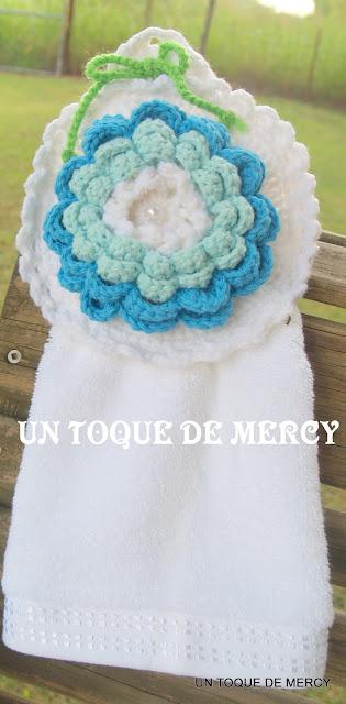 Lenceria De Baño Tejida A Crochet:UN TOQUE DE MERCY: SET PARA BANO DE ...