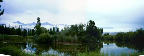 Inlet Waters of Lake Issyk-Kul, Kyrgyzstan
