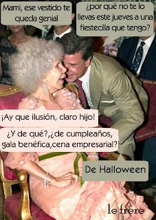 """Halloween"", ""Duquesa de Alba"""
