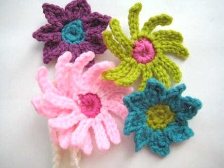 Crochet Wide Headband With Flower Free Pattern : Crochet Dreamz: Baby Headband with Flowers (Free Crochet ...