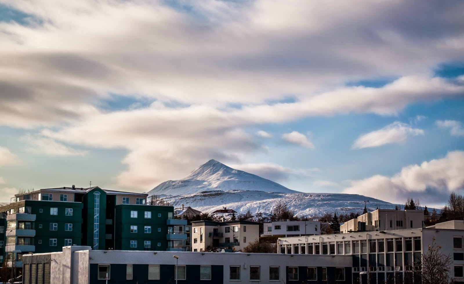 Pas gór Akureyri