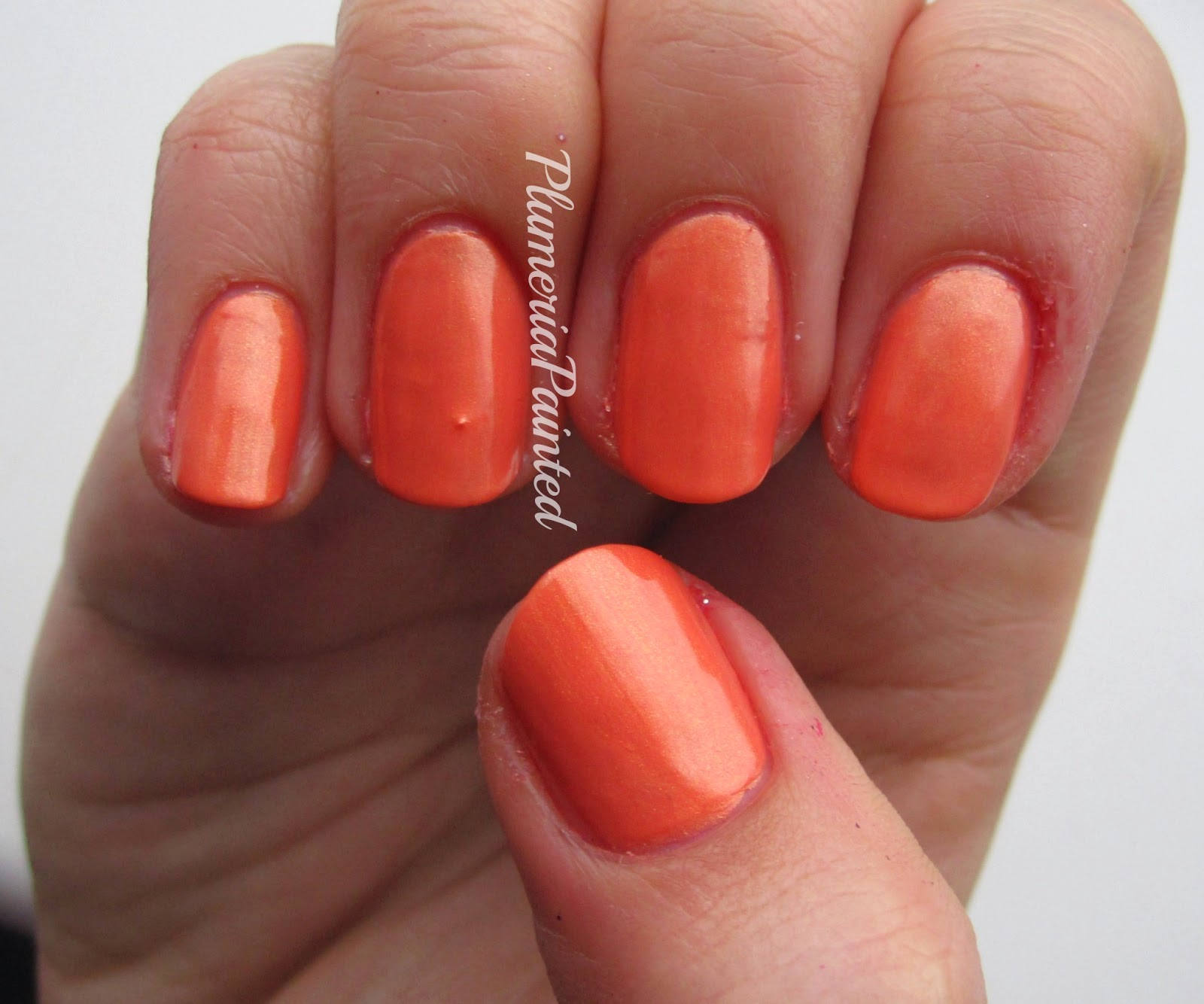 PlumeriaPainted: Orange Nails: Chilli Pepper - Orange (no name)