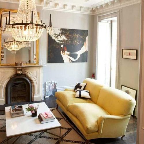 Mustard Living Room Acceseries
