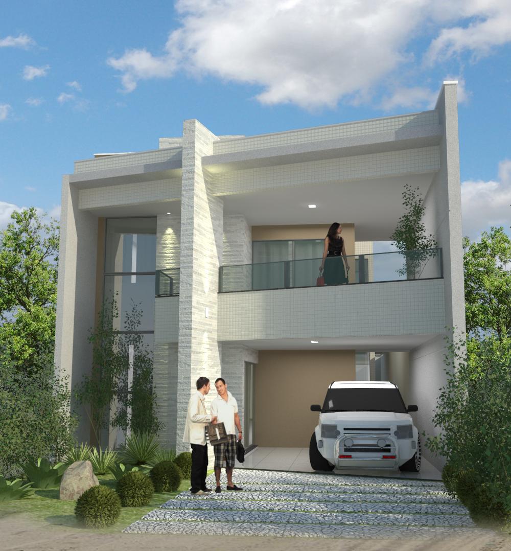 Nyercio nascimento casa moderna condominio osvaldo studart for Casa moderna 11